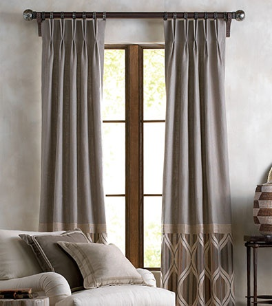 25 Best Ideas About Color Block Curtains On Pinterest
