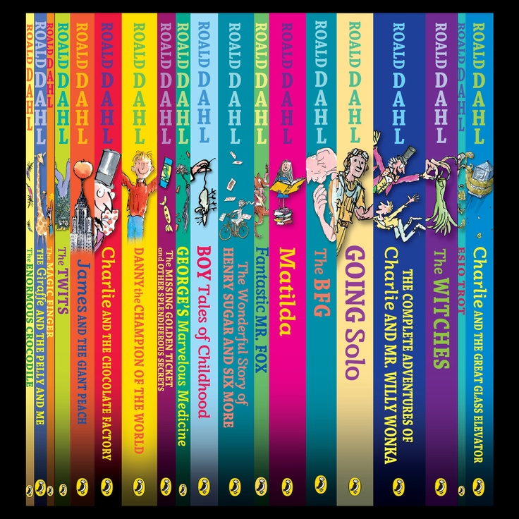 29 best your roald dahl collections images on pinterest roald dahl roald dahl collection my all time fav books fandeluxe Choice Image