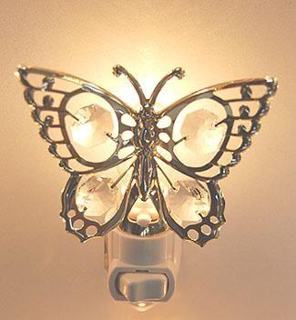 butterfly at httpwivenuecomlvcreationsecommerce ecommercenight lightsbridgebutterflyglamourbutterflies - Decorative Night Lights