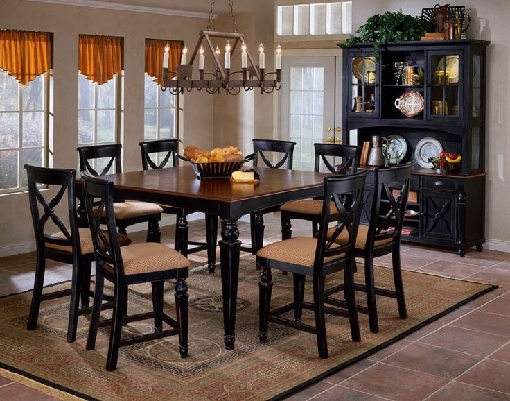 Hillsdale Northern Heights Counter Height Dining Set   Kitchen U0026 Dining  Table Sets At Hayneedle