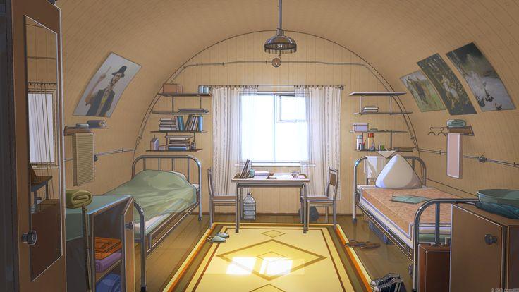 ArtStation - Summer camp backgrounds, Arseniy Chebynkin