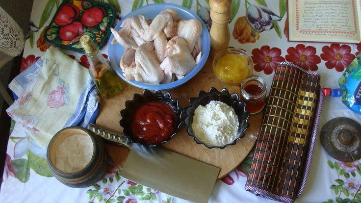 Крылышки в кисло-сладком соусе. Что Готовим? Что готовим?, рецепт, еда, кулинария, куриные крылышки, фастфуд, длиннопост, готовка