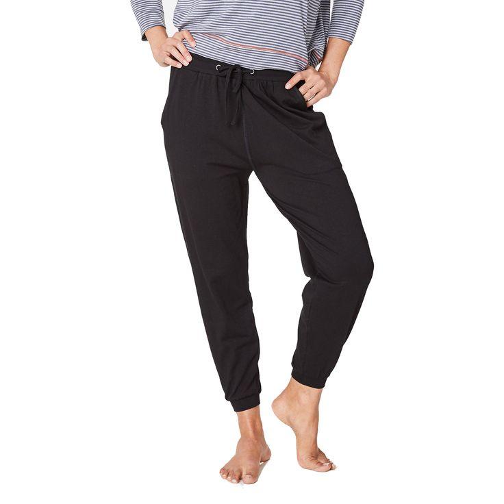 Bløde og lækre bukser i bambus og øko bomuld.