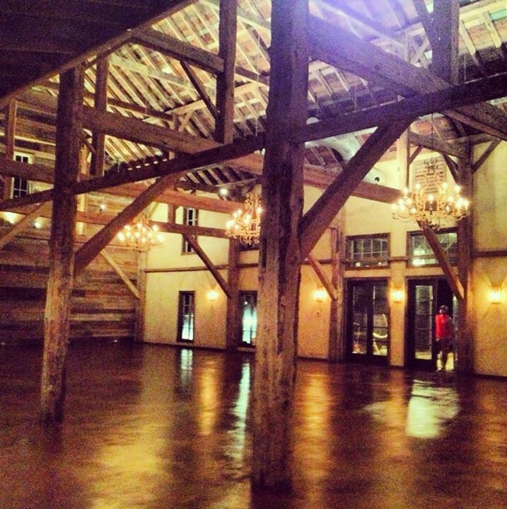 Interior of The Barn at Bridlewood wedding and event venue ...