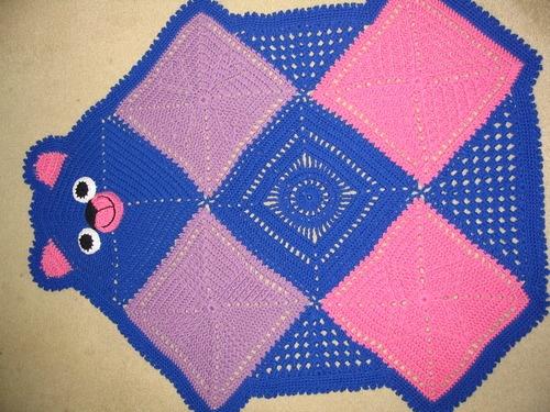 Bearghan - YarnCrazy Crochet WorldYarncrazi Crochet, Baby Afghans, Crochet Afghans, Bears Blankets, Crochet Baby Blankets, Bears Afghans, Christmas Gift, Crochet Pattern, Crochet Sewing Knits