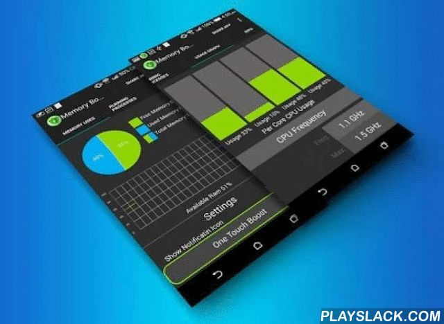 Memory Booster & CPU Monitor  Android App - playslack.com ,  This is a Memory Optimizer to speed up your devices as well as prevent battery drain!. It is designed to tackle the difficult yet crucial problem of memory management for all Android devices. It automatically kills low priority tasks after certain time. For maximum results you should do a manual boost once a day. Memory Booster and CPU monitor speeds up your Memory up to 60%. Enjoy a new feeling of speed on your Android smartphone…