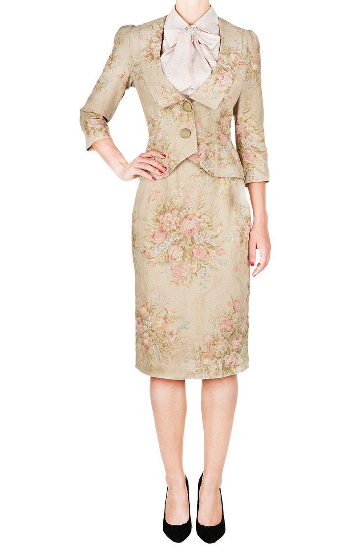 Lady Grace Jacket sand - Outlet - Online Store - Lena Hoschek Online Shop
