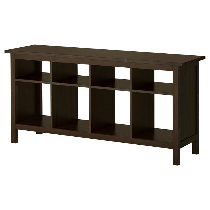 Hemnes Coffee Table Black Brown 90x90 Cm: HEMNES Console Table, Black-brown