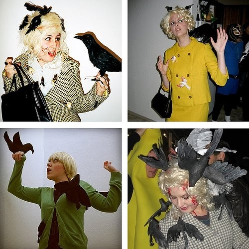 melanie daniels the birds my halloween costume this year just bought some fake birds - Halloween At Work Ideas