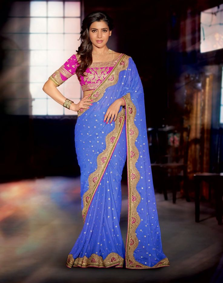 As a specialist in this industry, we are delivering a unique collection of Designer Saree which is worn as a tradition outfit to various places by ladies; the offered saree is designed by our experienced professionals using top grade fabric in compliance with latest trends