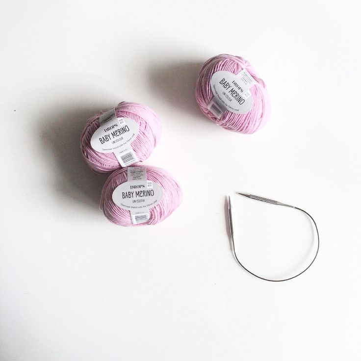 KNITTING UPDATE #23 | Drops Baby merino in soft pink