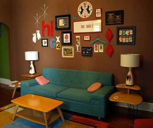 Retro Renovation's fav Mid-Century brands. And brown room inspiration.