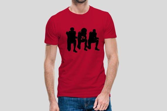 Kneeling Kaepernick Men/'s T shirt Black