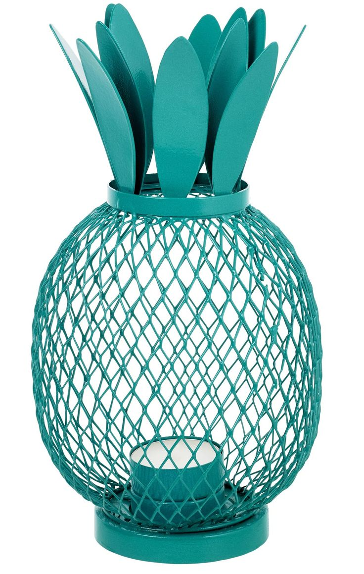 This bright blue pineapple shaped candle holder from Sainsbury's will not only look gorgeous as part of your wedding décor, but can also be repurposed at home after the big day.