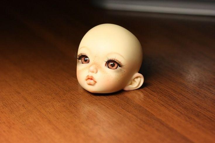 Глаза реалистичные янтарные (ореховые)