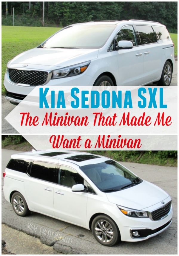 The 2015 Kia Sedona SXL is the minivan that made me want a minivan! #partner #drivekia