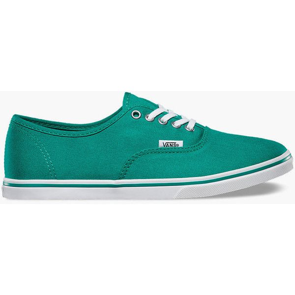 Vans Authentic Lo Pro Womens Shoes ($45) ❤ liked on Polyvore featuring shoes, sneakers, teal blue, top sider shoes, topsider shoes, vans topsiders, vans sneakers и teal blue shoes