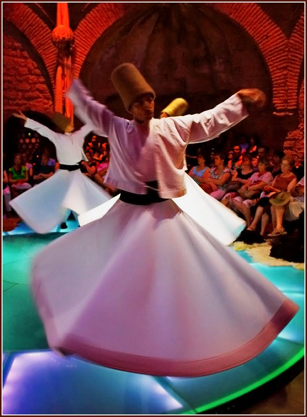Whirling Dervishes, Konya, Turkey. I had a chance to watch them in Istanbul. amazing.