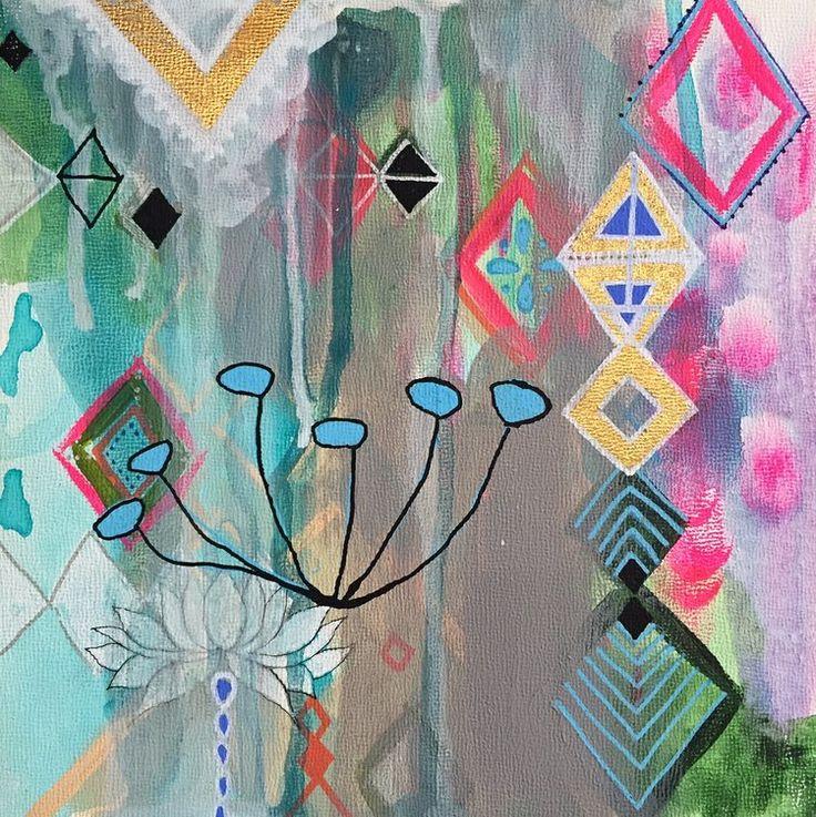 Moroccan Melody, a collaboration between Faith Evans Sills and Alena Hennessey · Faith EvansFlora