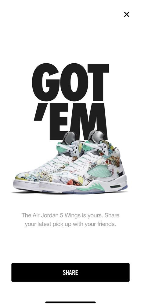 8d72581cf8d Air Jordan 5 WINGS Size 10 FREE SHIPPING  fashion  clothing  shoes   accessories