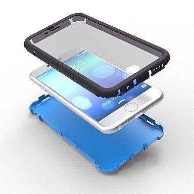 2 in1 ibrido ad alto impatto cassa del silicone duro per il iphone 6 (colori assortiti) – EUR € 8.63