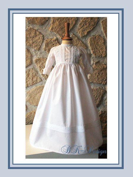 Taufkleid Mädchen Taufkleid Gr.62 von BK-Design auf DaWanda.com