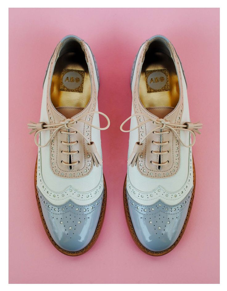 ABO brogues #abo #shoes #brogues #oxfords #pastel