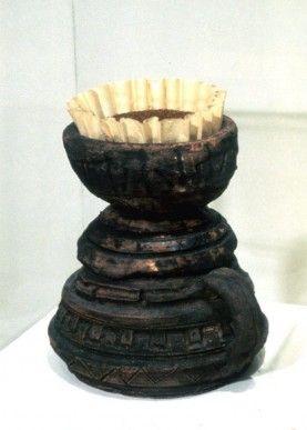 Pre Colombian Coffee Maker - Vik Muniz