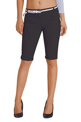 50d9f3846fb7 nice Damen Shorts, ( 454), Grösse 44 XXL, Farbe Schwarz ...