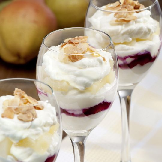 Fruchtiges Dessert