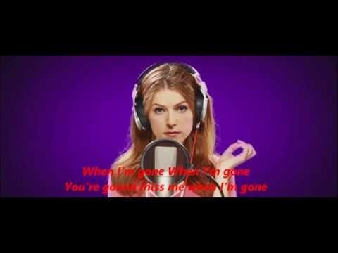 Anna Kendrick - Cups ''When I'm Gone'' (Radio Version) Pitch Perfect https://www.pinterest.com/Yeshuaschild/