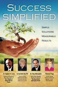 Success Simplified Dr. Irena Yashin-Shaw joins Stephen Covey, Dr. Tony Alessandra, & Patricia Fripp in a new book,  Success Simplified! $30.00 + GST To order, please click: http://www.innovationedge.com.au/shop/books/success-simplified