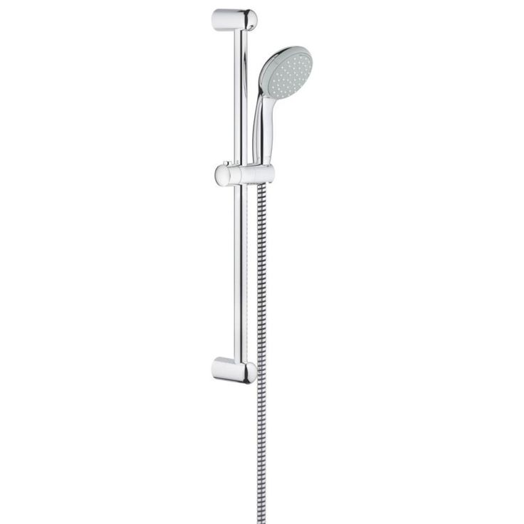 Grohe tempesta shower riser rail | Manufactured with high quality components | Supplied with brackets, adjustable glider and swivel holder