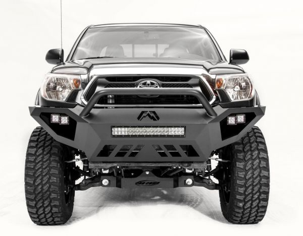 Fab Fours - Fab Fours TT12-D1652-1 Vengeance Front Bumper with Pre-Runner Toyota Tacoma 2012-2015