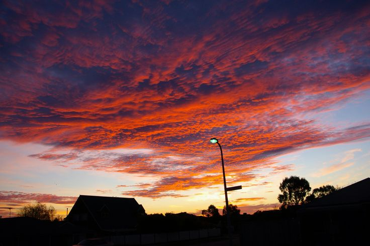 Odd sunrise Mt Martha Victoria