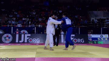 Juji Gatame — Looks so easy, doesn't? Kouchi-gari