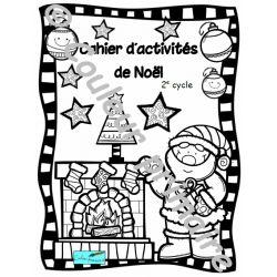 Cahier d'activités de Noël 2e cycle du primaire