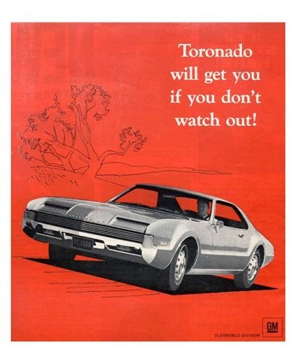 1966 Oldsmobile Toronado - Wasteful, inefficient, beautiful. The ultimate guilty pleasure