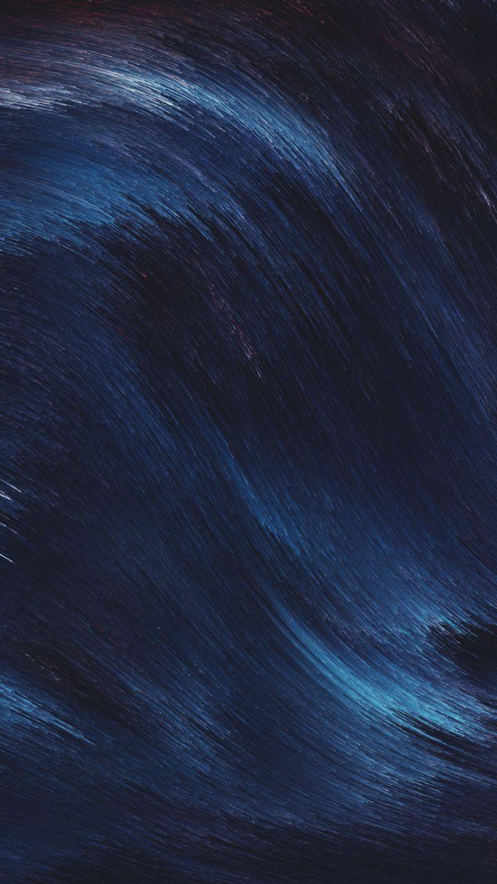 Abstract Blue Lines Dark Grey 720x1280 Wallpaper In 2019