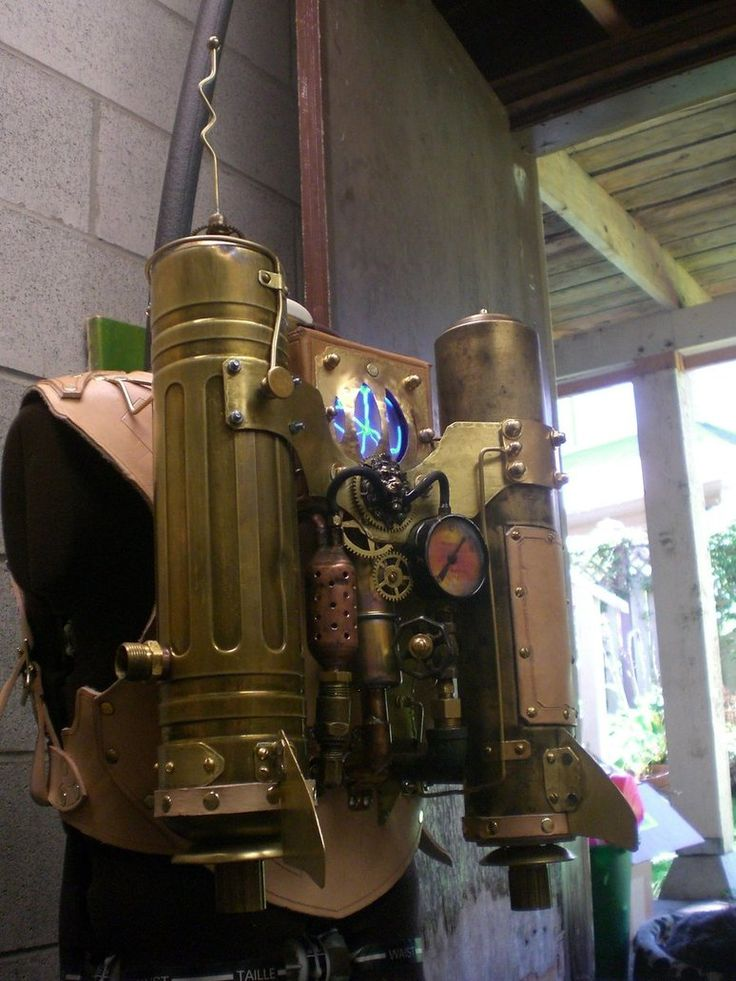 Steampunk Rocketeer Pack WIP4 by Skinz-N-Hydez on DeviantArt