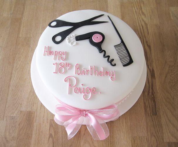 Image From Http Thecakeryleamington Co Uk Wp Content Hairdresser Cakey Cakesgraduation Cakehair Stylistscake Decoratinghairdresserscake