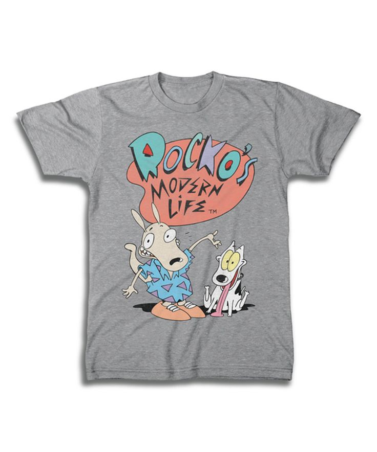 This Sports Gray 'Rocko's Modern Life' Tee - Men's Regular by Freeze is perfect! #zulilyfinds