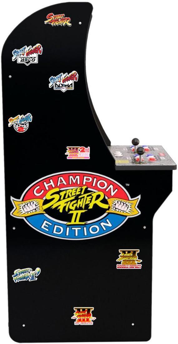 Street Fighter Stickers Arcade 2 In 2020 Street Fighter Arcade