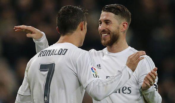 Ramos and Ronaldo <3