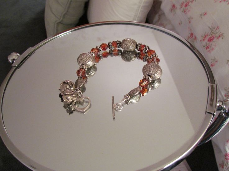Swarovski Beads and Turkish Silver - Mine