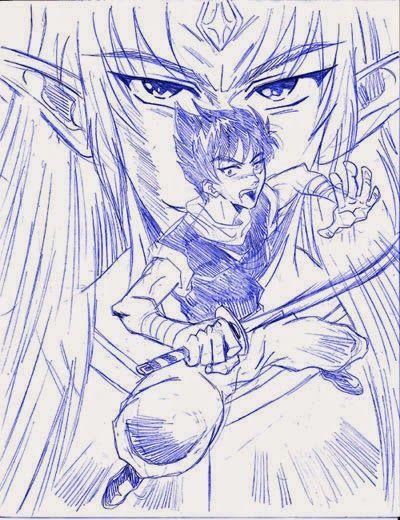 VAMPIRO: Dibujo de Goiki Villano Final [Saltando] por CRS | CRS: Mis Dibujos de Anime Manga