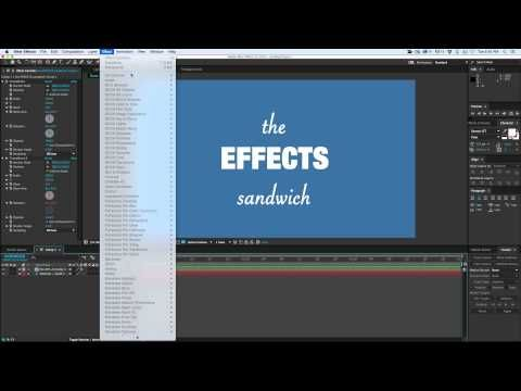Effects Sandwich Quick Tip - YouTube