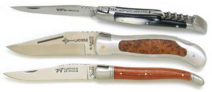 LAGUIOLE карманные ножи производство Франция