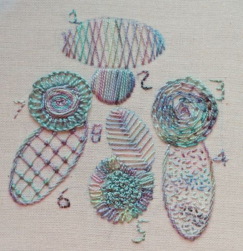 Ideas For Filling Stitches From Httpwwwneedleworktips
