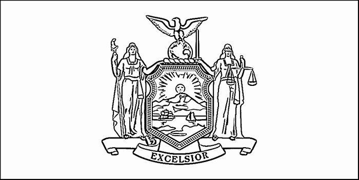 New York Coloring Books Fresh New York Flag Coloring Page In 2020